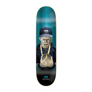 """DGK Killers Desarmo 8.06"""" Skateboard Deck"""