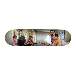 "DGK Mobsters Vaughn 8.1"" Skateboard Deck"