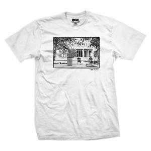 DGK Kalis x Blabac Tre T-Shirt - White