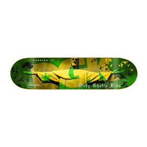 "DGK Rodrigo City of Dreams 8.38"" Skateboard Deck"