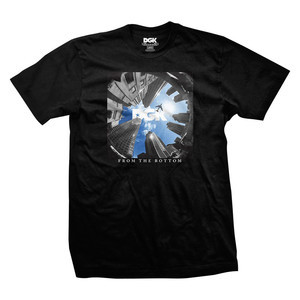 DGK From the Bottom T-Shirt - Black