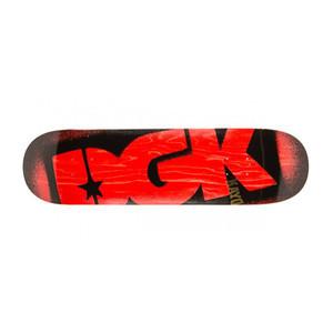 """DGK Red Stencil 8.25"""" Skateboard Deck"""