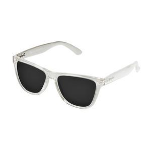 Daybreak Polarised Sunglasses - Crystal Clear/Black