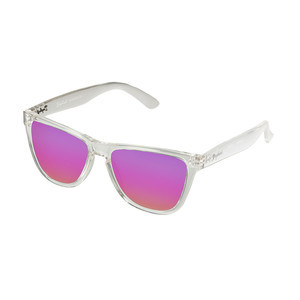 Daybreak Polarised Sunglasses - Crystal Clear/Pink