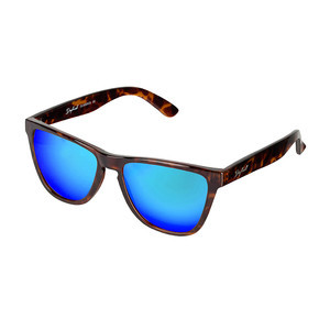 Daybreak Polarised Sunglasses - Electric Tortoise/Blue