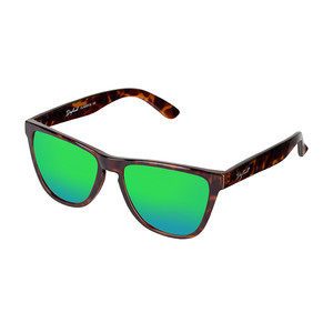 Daybreak Polarised Sunglasses - Electric Tortoise/Green