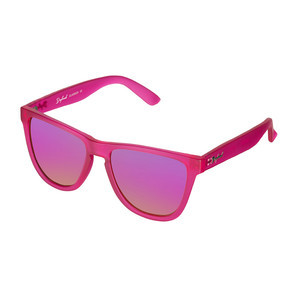 Daybreak Polarised Sunglasses - Frosted Pink/Pink