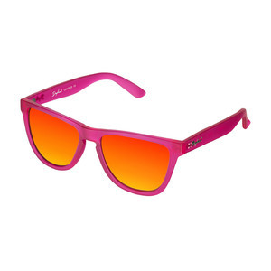 Daybreak Polarised Sunglasses - Frosted Pink/Sunset
