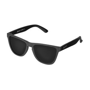 Daybreak Polarised Sunglasses - Jet Black/Black