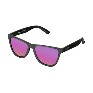 Daybreak Polarised Sunglasses - Jet Black/Pink