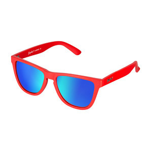 Daybreak Polarised Sunglasses - Simply Red/Blue