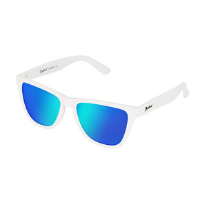 Daybreak Polarised Sunglasses - Snow White/Blue