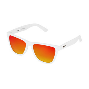 Daybreak Polarised Sunglasses - Snow White/Sunset