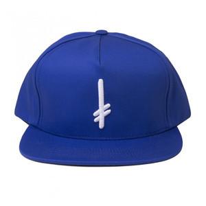 Deathwish Gang Logo Snapback Hat - Blue