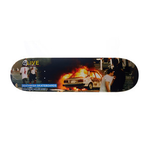 "Deathwish Kirby Riots 8.38"" Skateboard Deck"