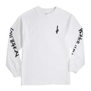 Deathwish Landmark Long Sleeve T-Shirt - White / Black