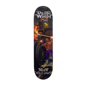 "Deathwish Neen Metal Mayhem 8.0"" Skateboard Deck"