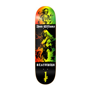 "Deathwish Neen Colours of Death 8.0"" Skateboard Deck"