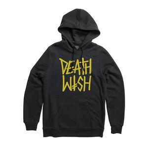 Deathwish Deathstack Hoodie - Black/Yellow