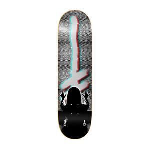 """Deathwish OG Distorted Logo 8.125"""" Skateboard Deck"""