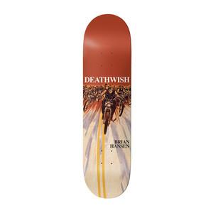 """Deathwish Slash Savage Skulls 8.25"""" Skateboard Deck"""