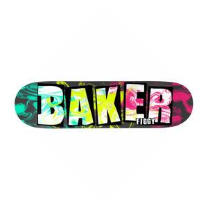 "Baker Figgy Ink Drops 8.38"" Skateboard Deck"