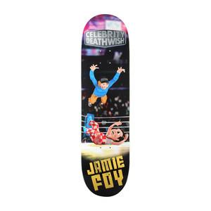 "Deathwish Foy Celebrity Deathwish 8.38"" Skateboard Deck"