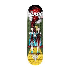 "Deathwish Nightmare in Emerald City 8.25"" Skateboard Deck - Slash"