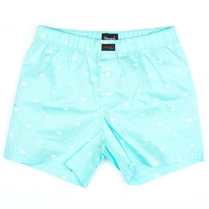 Diamond Brilliant Boxer Short - Diamond Blue