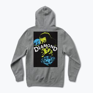 Diamond Classic Horror Hoodie - Gunmetal Heather