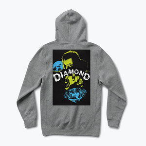 Diamond Classic Horror Hoodie - Gunmetal Heather