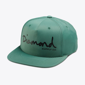 Diamond OG Script Hat - Green