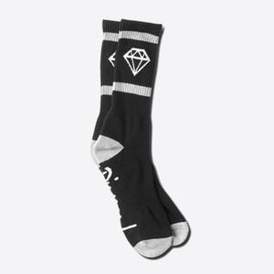 Diamond Rock Sport Crew Socks - Black