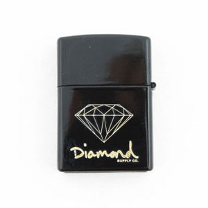 Diamond Zippo Lighter — Black