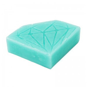 Diamond Hella Slick Skateboard Wax — Diamond Blue