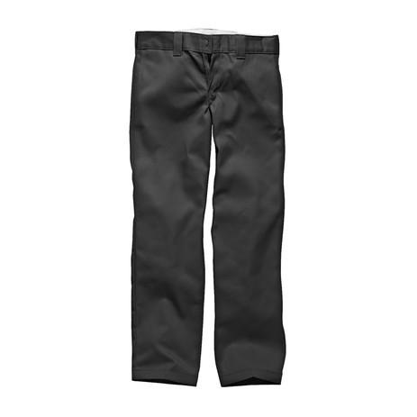 Dickies 873 Slim Straight Fit Work Pant - Black