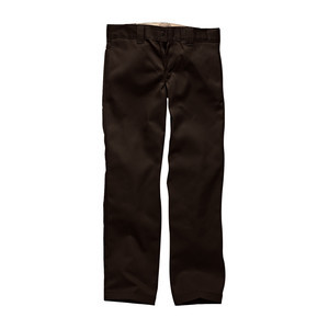 Dickies 873 Slim Straight Fit Work Pant - Chocolate Brown
