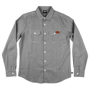 Dickies H.S. Original Long Sleeve Shirt - Light Grey