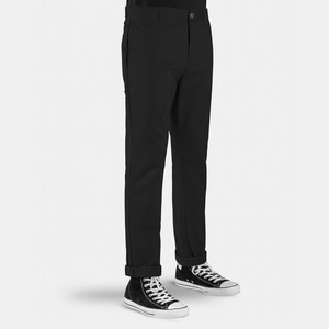 Dickies Slim Fit Double Knee Work Pant - Black