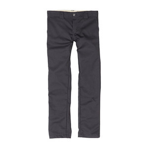 Dickies Youth 801 Skinny Straight Fit Work Pant - Charcoal