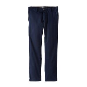 Dickies Youth 801 Skinny Straight Fit Work Pant - Dark Navy