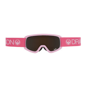 Dragon Lil D Youth Snowboard Goggle - Pink / Smoke