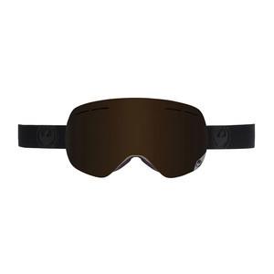 Dragon X1s Snowboard Goggle 2017 - Knightrider / Dark Smoke + 2 Bonus Lens