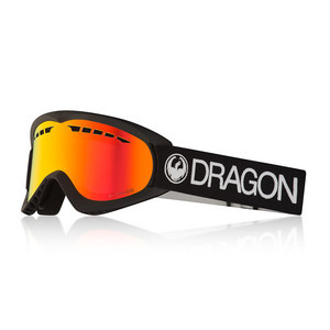 Dragon DX Snowboard Goggle 2018 - Black / Red Ion