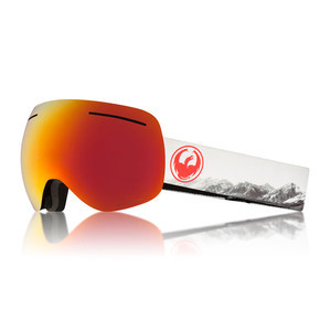 Dragon X1 Snowboard Goggle 2018 - Realm / Red Ion + Rose