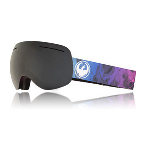 Dragon X1 Snowboard Goggle 2018 - Ink / Dark Smoke + Flash Blue