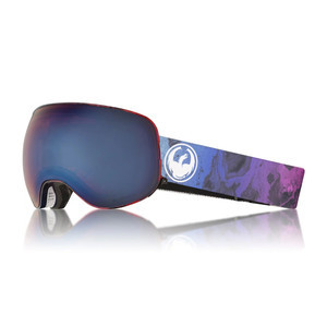 Dragon X2 Snowboard Goggle 2018 - Ink / Blue Ion + Rose