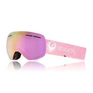Dragon X1s Snowboard Goggle 2018 - Mill / Pink Ion + Dark Smoke
