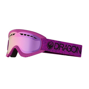 Dragon DXS Snowboard Goggle 2019 - Light Pink / Pink Ion
