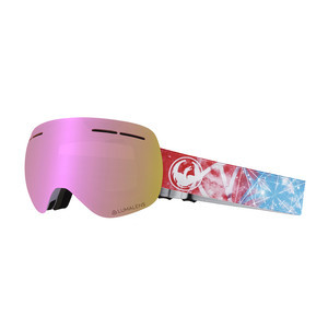 Dragon X1S Snowboard Goggle 2019 - Galaxy / Pink Ion + Dark Smoke